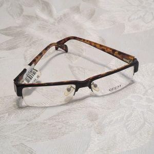 New Guess Eyeglass Frames Tortoise 54 -17 - 143